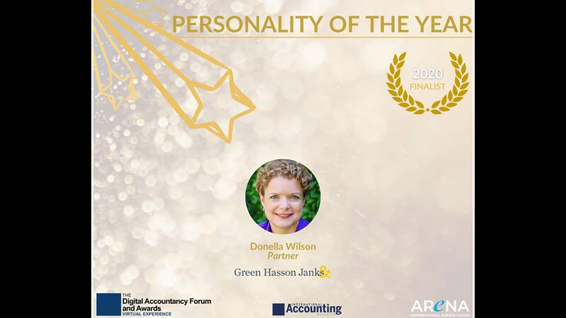 DONELLA WILSON PERSONALITY OF THE YEAR