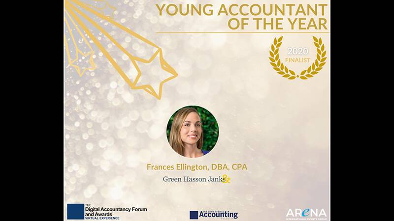 FRANCES ELLINGTON YOUNG ACCOUNTANT OF THE YEAR
