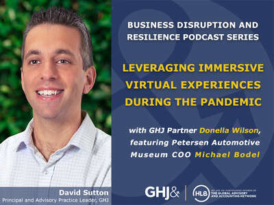 2021 04 26 GHJs Disruption and Resilience Podcast Series