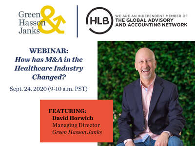 2020 9 24 HLB Healthcare Webinar David
