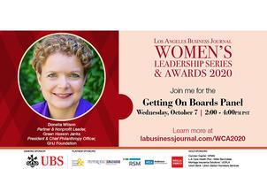 2020 LABJ Womens event website image LABJ Branding