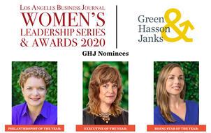 LABJ Womens Leadership Finalists 2020