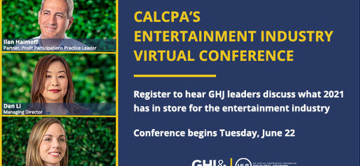 2021 05 25 Cal CPA Entertainment Conference