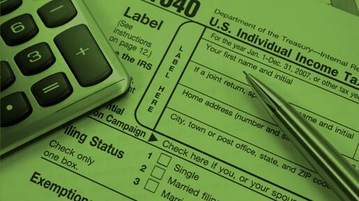 Tax Alert Featured Light Green