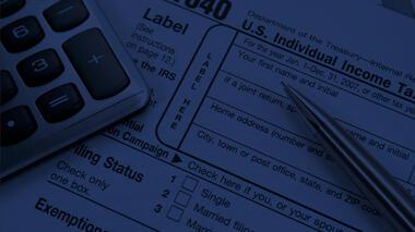 Tax Alert Featured Blue