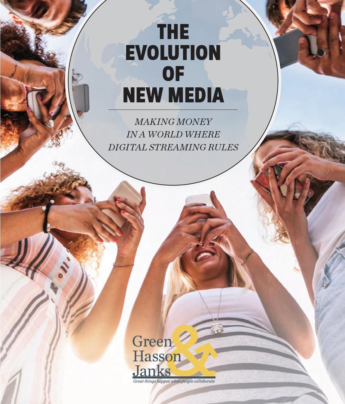 Evolution Of New Media Cover