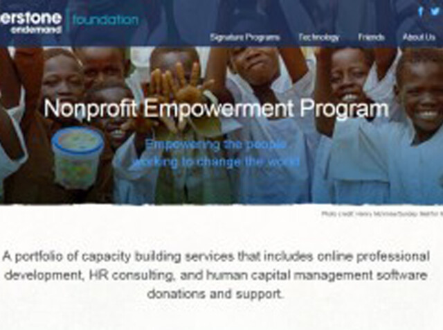 Nonprofit With Less Featured